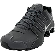 Nike Mens Shox NZ Leather Trainers