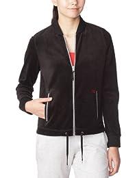 Dorotennis - Veste Sportswear - Uni - Velours - Femme