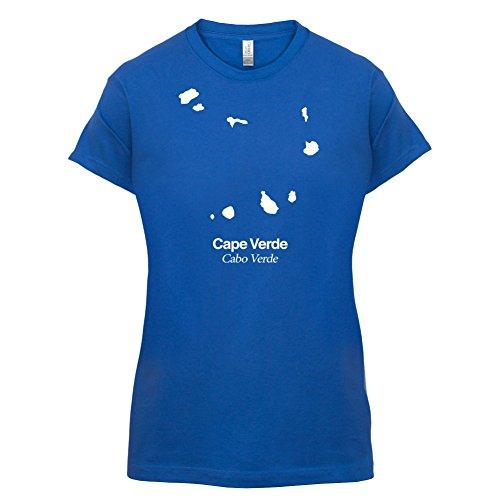 Cape Verde / Kap Verde Silhouette - Damen T-Shirt - 14 Farben Royalblau