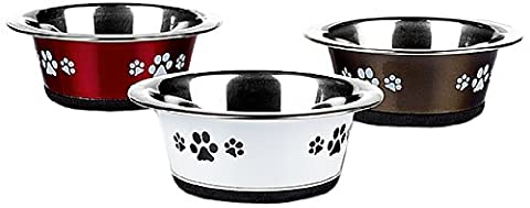 Caldex Posh Paws Cat Dish, 240 ml, Pack of 6