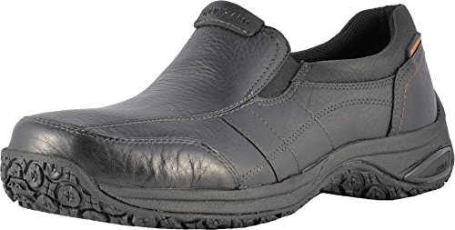 New Balance Dunham Herren Litchfield Slip-On Black Loafer, Black, 51 2E EU (Dunham Balance New)