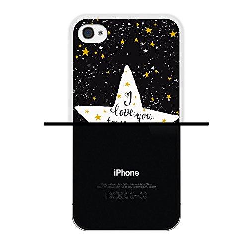 iPhone 4 iPhone 4S Hülle, WoowCase Handyhülle Silikon für [ iPhone 4 iPhone 4S ] Donuts Handytasche Handy Cover Case Schutzhülle Flexible TPU - Rosa Housse Gel iPhone 4 iPhone 4S Transparent D0421