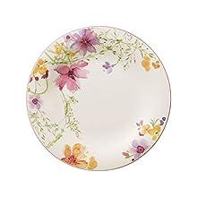 Villeroy & Boch Mariefleur Basic Dinner Plate, 27 cm, Premium Porcelain White