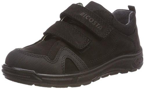 RICOSTA Jungen TAMO Sneaker, Schwarz (Schwarz 095), 25 EU