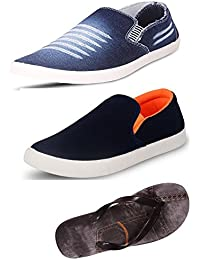 Maddy Perfect Combo Pack Of 2 Shoes & Slippers For Men In Various Sizes…