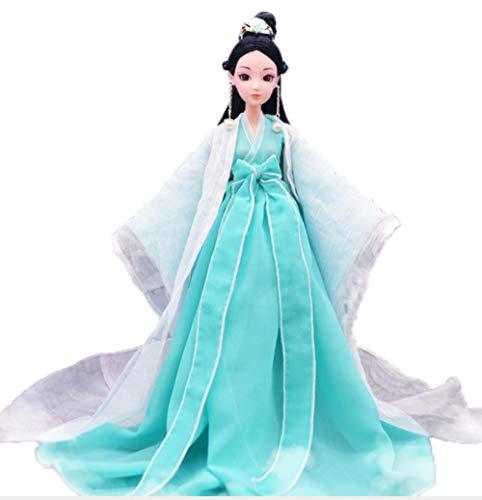 Puppe Papier Kostüm - LPFLF Sansheng III chinesisches Kostüm Puppe Anzug Kleidung Simulation Puppe Spielzeug Kinder Silikon Hand