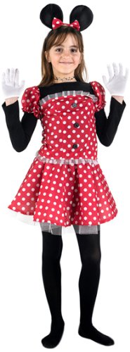 Atosa-93072 Disfraz Ratoncita, color rojo, 10 a 12 años (93072)