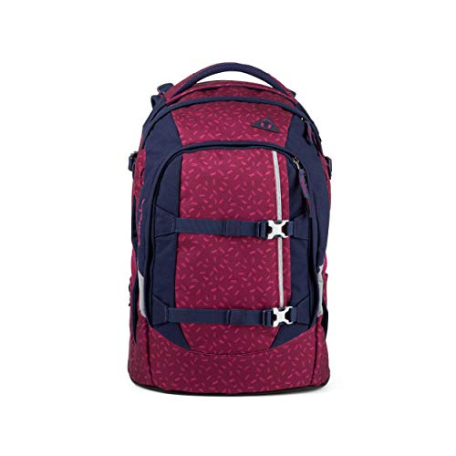 satch Pack Blazing Purple, ergonomischer Schulrucksack, 30 Liter, Organisationstalent, Pink