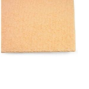 Kosmetex selbstklebender Flächendruckschutz 1x 22×40 cm Individuell zuschneidbarer Druckschutz.