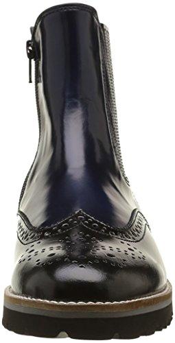 Gabor Damen Fashion Chelsea Boots Mehrfarbig (schw./River(Cuoio) 76)