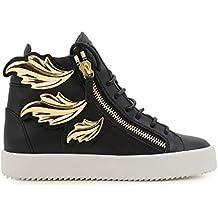 GIUSEPPE ZANOTTI DESIGN Hi Top Sneakers Donna RS6096001 Pelle Nero ae0252feb87