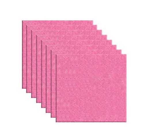 Icegrey Akustikschaumstoff Akustikplatten Schalldämmung Geräuschminderung Pfirsich 40x40cm -