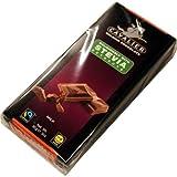 Stevia-Schokolade, Cavalier Belgian Chocolate 'Milk' 3 x 85g