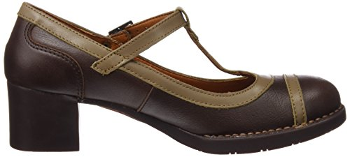 The Art Company 0099 Memphis Bristol,Mary jane Femme Marron (Brown)