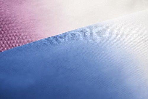 Tasche Herrn umhängetasche Baumolle mit lange Tragegriffen 39x37cm Valentingstag Geschenk Henkeltaschen Reise Schultertasche Strandtasche Blau Lila