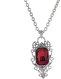 piedra roja cazador collar de la sombra cosplay pidak shop