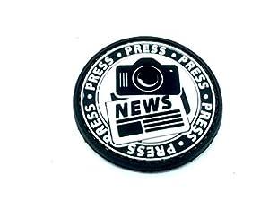 Presse Nouvelles Journaliste PVC Airsoft Patch