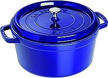 STAUB La Cocotte Casseruola, Ghisa, Blu Scuro, 28 cm
