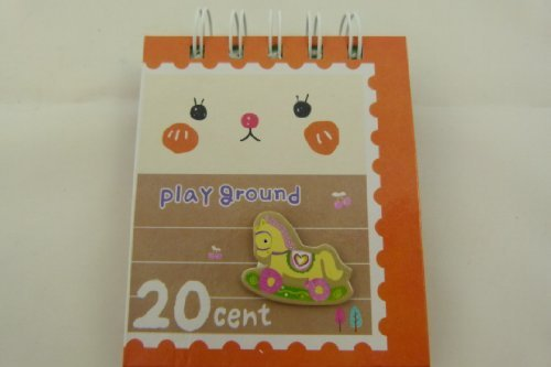 Einband Tiergesicht Notizbuch (mit gestanzten Verzierungen cover) - Spielplatz ()
