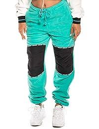 Grimey PANTALÓN Chica Nemesis Polar Sweatpant FW18 Green