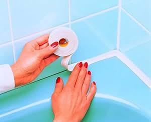 rayen 6190 rouleau joint silicone plastique blanc 3 x 3 x 2 cm cuisine maison. Black Bedroom Furniture Sets. Home Design Ideas
