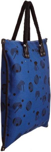 Kate Sheridan Pacman, Borsa tote donna Blu Blu royal Blu royal