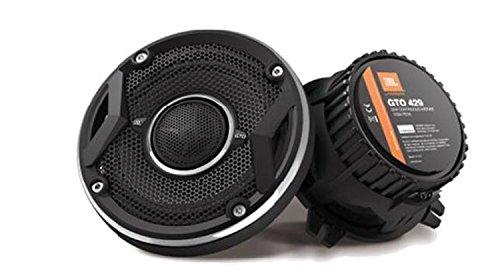JBL Car GTO429 4-Inch 105 Watts 2-Way Coaxial Audio In-Car Speakers - Black