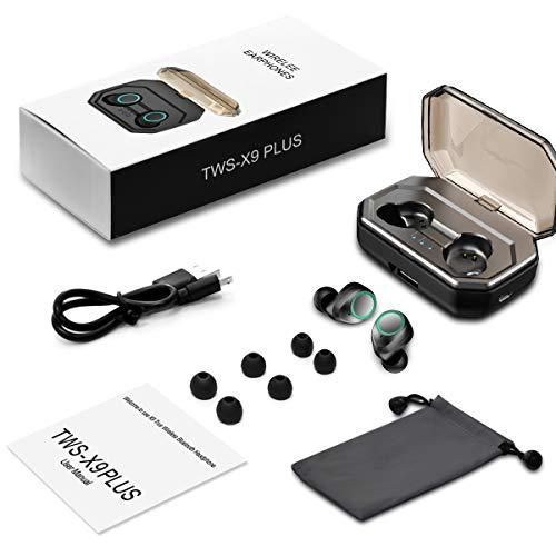 Bluetooth Kopfhörer Muzili V5.0 Bluetooth Kopfhörer in Ear, TWS Hi-Fi Bluetooth Headset kabellos IPX5 Wasserdicht Kopfhörer mit Mikrofon und 3000mAh Ladebox für Samsung Huawei Sony Black Berry HTC - 7