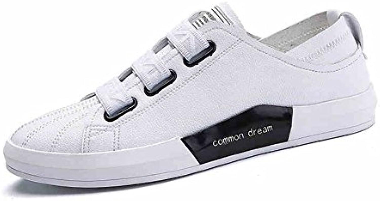 qidi respirants toile masculin blanc blanc blanc plat chiffon occasionnels (taille: eu39 / uk6.5 chaussures) fc2546