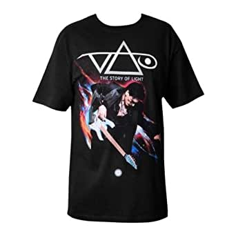 Steve Vai Official 2012 Tour Black The Story Of Light Guys T-Shirt (Medium)