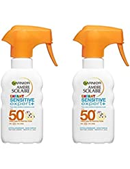 Garnier Ambre Solaire Spray Gâchette Protection Enfant Sensitive Expert + FPS50 + 200 ml -