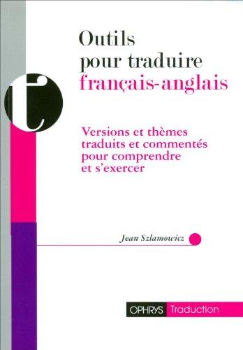 Outils pour traduire français-anglais