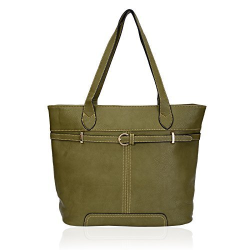 Eye Catch - Sac a main city classique en simili cuir - Femme