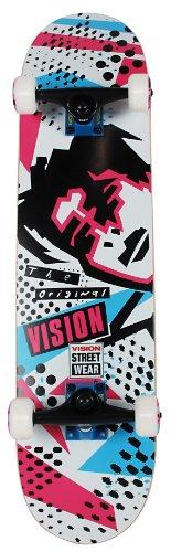 vision street wear SK8 V 3' LEGEND GONZ LIGH WHT weiß