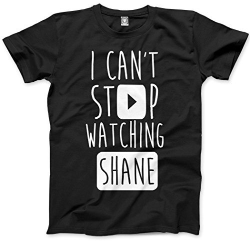 HotScamp I Can't Stop Watching Shane - Vlogger Star Kids and Teen T-Shirt - Various Colours and Sizes