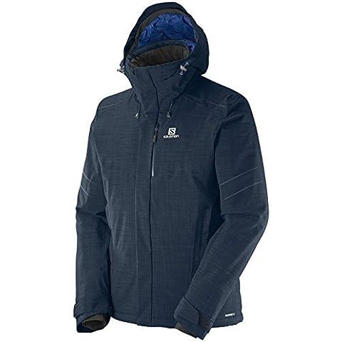 Salomon chaqueta para hombre Icestrom Plus, otoño/invierno, hombre, color Azul - Big Blue-X, tamaño
