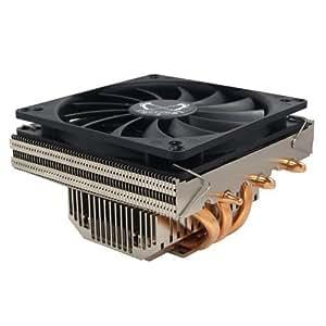 Scythe SCSK-1100 Refroidisseur pour processeur Heatpipe Socket 754 939 940 AM2 775 1156 1366 Aluminium/Cuivre