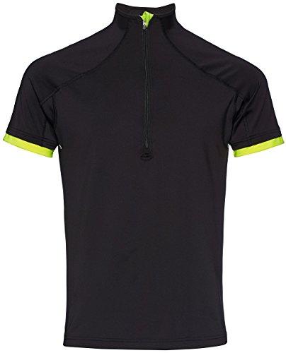 FIND Sport Top Herren Schwarz (Black/Lime)