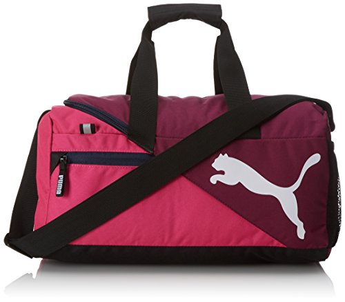 PUMA Sporttasche Fundamentals Sports Bag XS, Magenta Purple/Fuchsia Purple, 40 x 14.5 x 22 cm, 17 liter, 073501 09