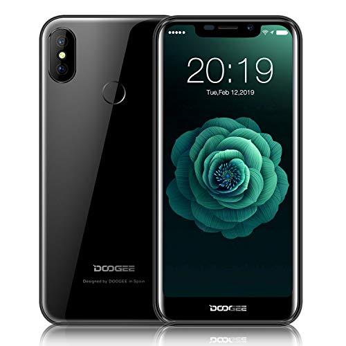 Günstige Smartphone 3G, DOOGEE X70-2019 4000mAh Quad-Core 2GB+16GB Android 8.1 Dual SIM, Billige Handy ohne Vertrag, 5.5