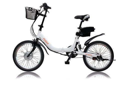 "E-Bike, Elektrofahrrad, FLEXX 20\"", E-Klapprad, Riemenantrieb, 3-Gang Shimano, gefedert, Faltrad, 250W, 36V, 9 Ah, LightSKIN LED Sattelstütze, Ebike, Pedelec faltbar, Mobilitätspaket, Camping, Marine, Pendler, Cityflitzer"