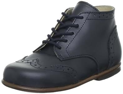 Little Mary Lord, Chaussures Premiers pas bébé garçon, Bleu (Vachette Marine), 18 EU (0-3 months Bébé UK)