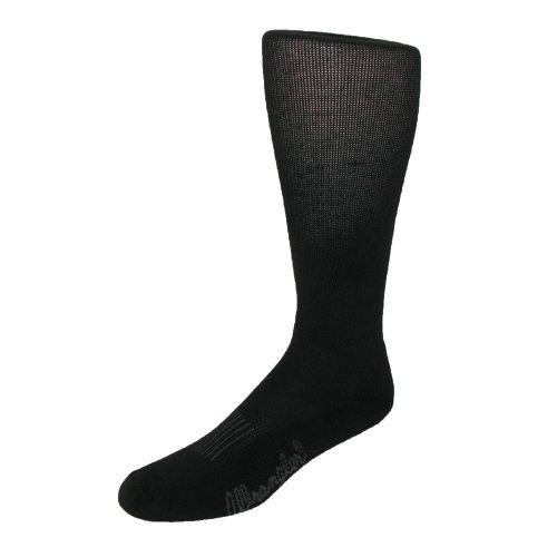 Preisvergleich Produktbild Wrangler Men's Moisture Wicking Western Boot Socks, Black
