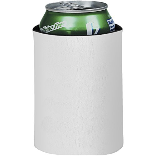 Bullet Crowdio zusammenklappbarer Getränkeisolator (10 x 12.8 cm) (Weiß)