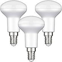 parlat E14 LED bombilla R50 4,6W =35W 380lm 110° blanca, 3 UDS