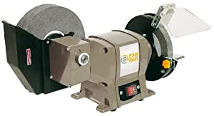 Fartools One TME 150-200 Touret à meuler 250 W 200 x 20 x 40 mm et 150 x 12,7 x 20 mm