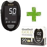 GlucoCheck GOLD Starter-Set [mmol/l] mit 60 Blutzuckerteststreifen … preisvergleich bei billige-tabletten.eu
