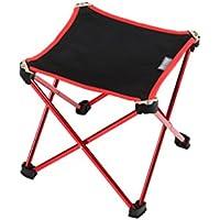 DYFYMX Taburete plegable para exteriores, ultraligero y portátil, taburete plegable, respaldo de pesca, silla de dibujo, mini taburete de Mazar