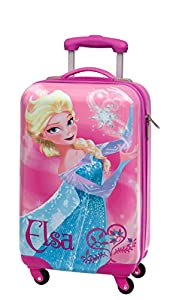DISNEY Frozen Elsa, trolley, suitcase,baggage 55 cm (22 Inch) by TocTocShop