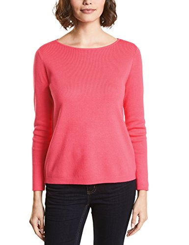Street One Damen Pullover 300540, Rosa (Colada Pink Knit 11262), 44
